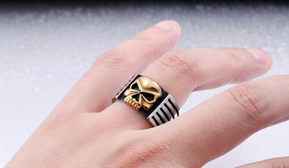 HTB1SP3lOVXXXXaqXXXXq6xXFXXXI - Male Statement Skull Ring