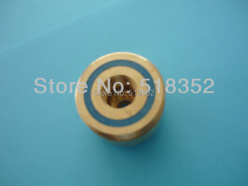 ᗑ】dia.36mmx H28mm Brass Guide Wheel(pulley) Seat for High Speed ...