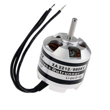 4 set/lot Emax XA2212 820KV 980KV 1400KV Motor sin escobillas para 250 Mini 280 FPV Quadcopter(China)