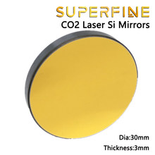 CO2 Si laser mirror dia 30mm thickness 3mm for laser engraving cutting machine parts