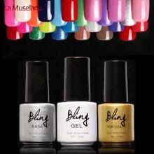 1Pcs Nail Gel Polish Gel Long-lasting Soak-off Gel Nail LED UV 6ml Hot Nail Gel 80 Colors #24007(hot sell color)