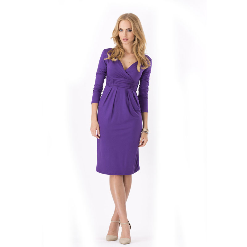 Maternity clothes dress for pregnant V neck full cotton pregnancy ...