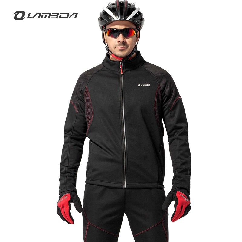 winter  bicycle cycling jersey sets mens long sleeve clothing sets bike fleece wind coat outdoor sports suit actionclub mens winter cycling jerseys sets straps cycling suit long sleeve bicycle bike clothing male breathable running set