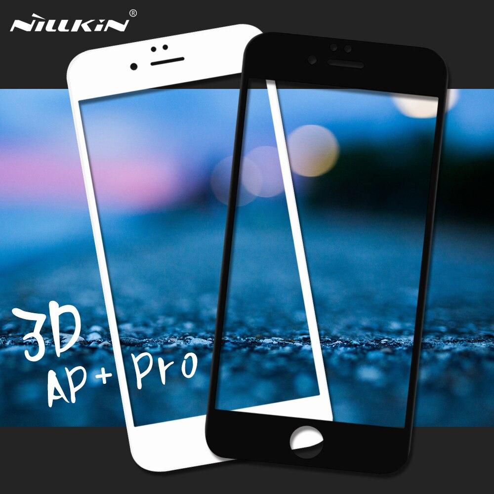 imágenes para NILLKIN para el iphone 6 s Plus 3D AP + Pro para el iphone 6 S Plus/6 Más Completa de Vidrio Templado Protector de Pantalla de Cine para 6 s Plus