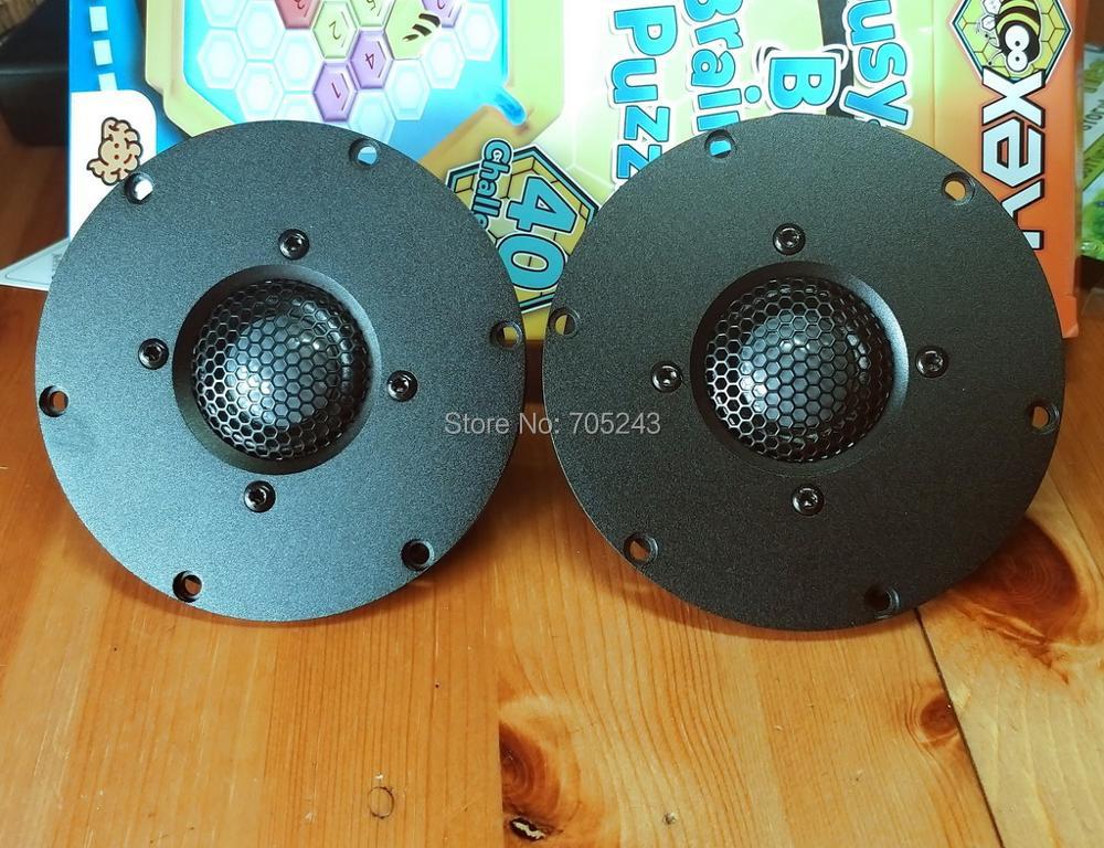 Image 2 - pair 2 pcs  Melo david  audio  Pure  BE beryllium  dome tweeter speaker  92db 50W  NEO magne   (2020 new version )magnetmagnet magnetmagnet speaker -