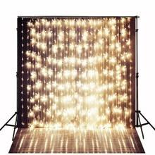 Faísca Glitter Dourado Baile Fotografia Fundos Vinil Bokeh pano de Computador impresso backdrops partido Alta qualidade