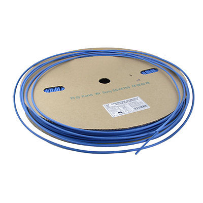 Ratio 2:1 Blue 3.5mm Dia. Sleeving Heat Shrink Tube 200M 200meter set 3 5mm pvc heat shrink tube ratio 2 1 sleeving for insulating connector