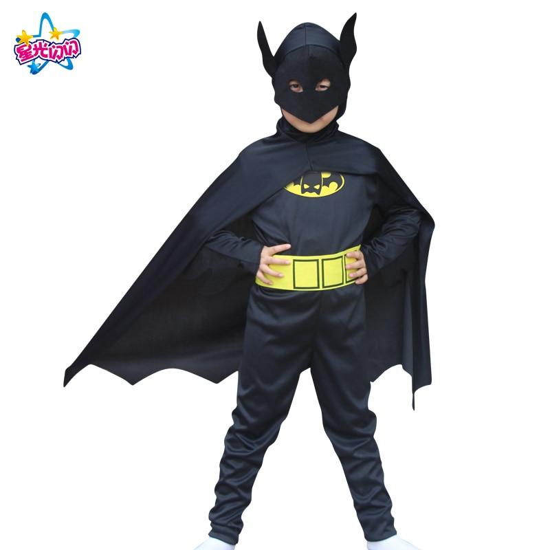 NoEnName Envío gratis Batman Superman hombres Batman Cosply - Disfraces - foto 2