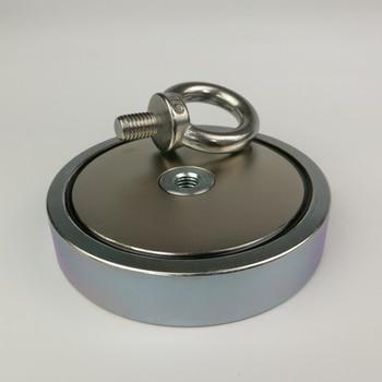 Магнитный Магнит 500 кг, притягивающий силу, мощный неодимовый магнит для восстановления рыбалки, 1 шт.