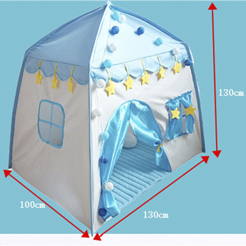 Game House Play Tent Princess Secret Castle Indoor Outdoor Toys Girls Boys Portable Foldable Playhouse Toy For Children Kids in Toy Tents from Toys Hobbies