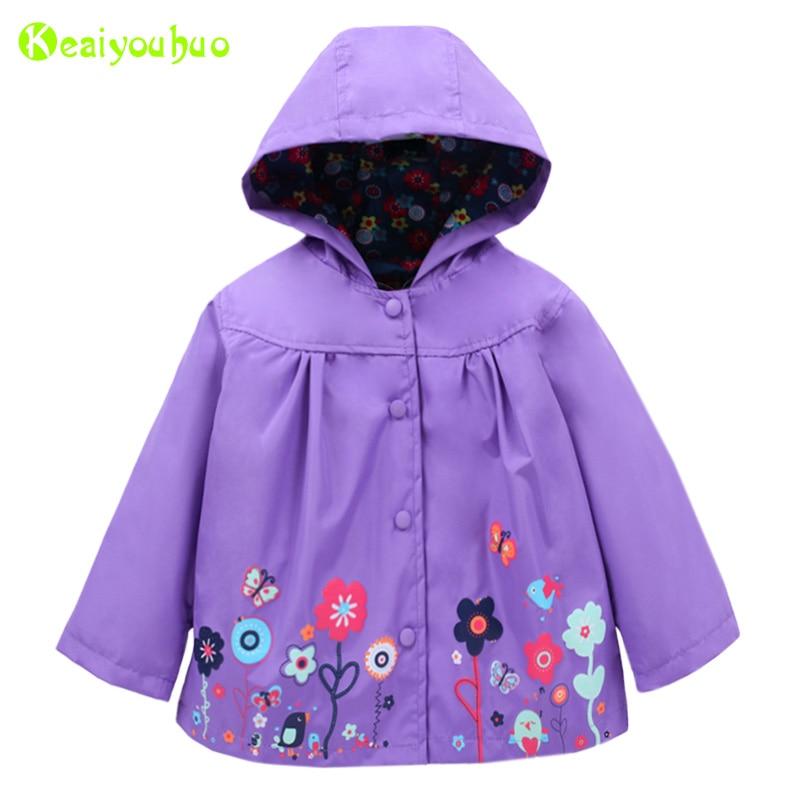 Keaiyouhuo Baby Mädchen Trenchcoat 2018 Frühjahr Floralen Jacke Für Mädchen Jacke Kinder Regenmantel Oberbekleidung Mädchen Windjacke Kleidung Seien Sie Freundlich Im Gebrauch