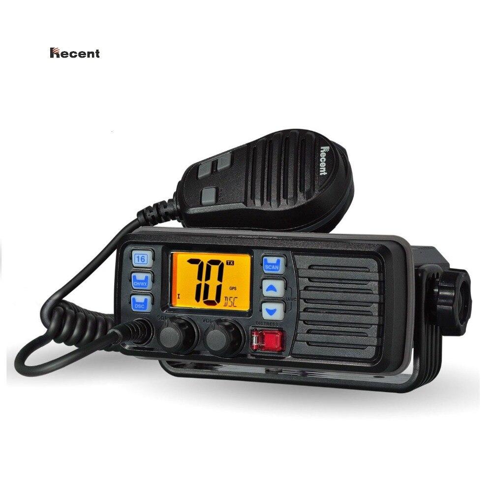 RECENTI RS-507M VHF Mobile Radio Marina Galleggiante DSC Chiamata risposta Automatica Built-In DSC MMSI Codice 156.025-157.425 MHz paglietta Ricetrasmettitore