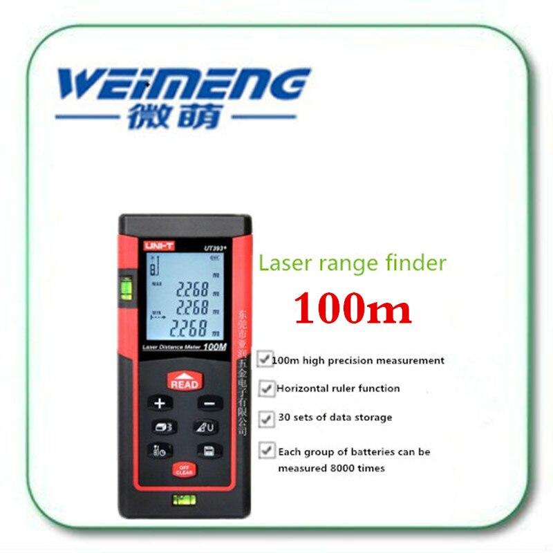 Weimeng brand Handheld infrared 100m Laser Rangefinder Digital Laser Distance Meter battery-powered laser rangefinder kaman mk 60 1 8 lcd handheld laser distance meter rangefinder black red multi colored