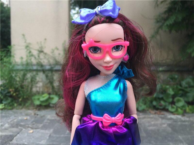 "Image 2 - Disney Descendants Neon Lights Ball 11""/28cm Jane Auradon Prep Action Figure Toy Dolls New LooseDolls   -"