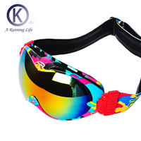 Top Quality Ski Goggles Double Layer Skiing Glasses Breahable Anti Frog Snowboard Goggles UV400 Skiing And