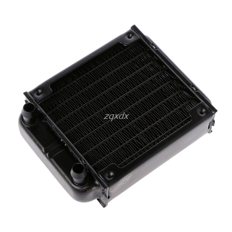 New 80mm Aluminum Computer Radiator Water Cooling Cooler For Computer CPU GPU VGA RAM  Heatsink Heat Exchanger Z09 Drop ship 4pin mgt8012yr w20 graphics card fan vga cooler for xfx gts250 gs 250x ydf5 gts260 video card cooling