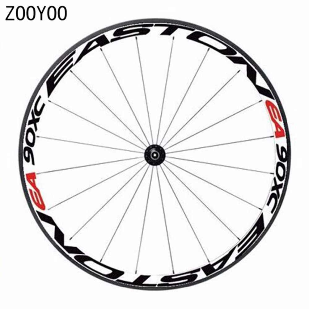 1 side bicycle wheel rims sticker light reflective decal bike sticker cycling safe protector 26er 27 5