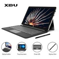XIDU 13.3 Window10 Intel N3350 Tablet PC Dual Core Laptop with Backlit keyboard RAM 6GB ROM 64GB Touchscreen Ultra Notebook