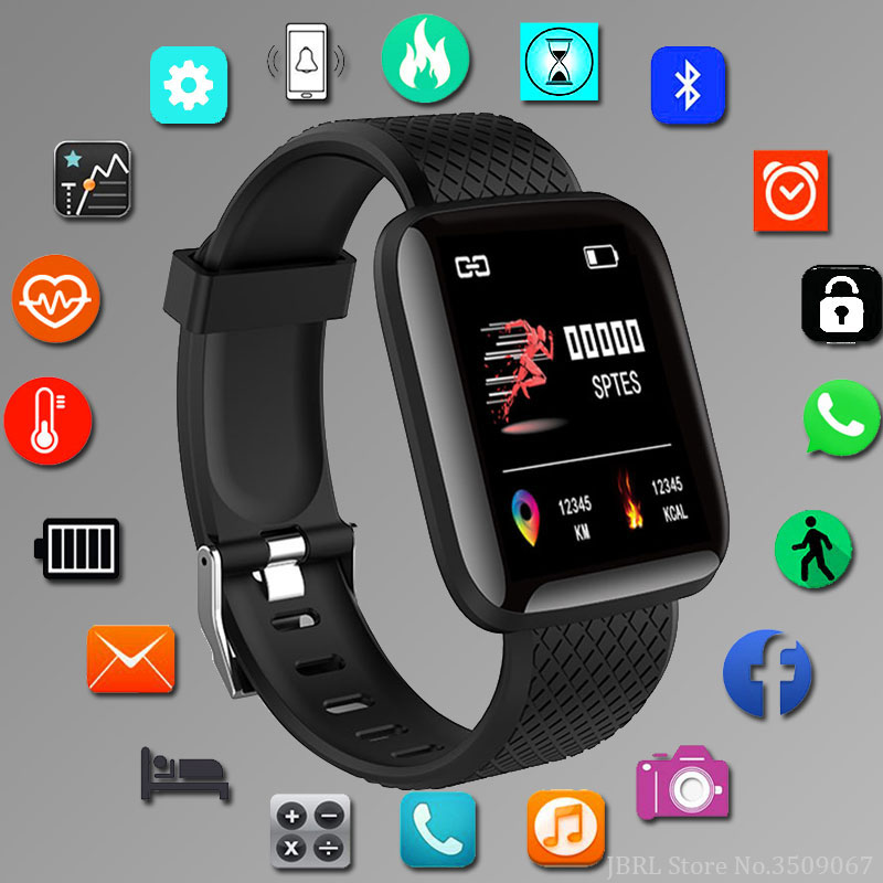 Men Watches Clock Square Digital Hour Electronic Hodinky New-Fashion LED Sport for Male