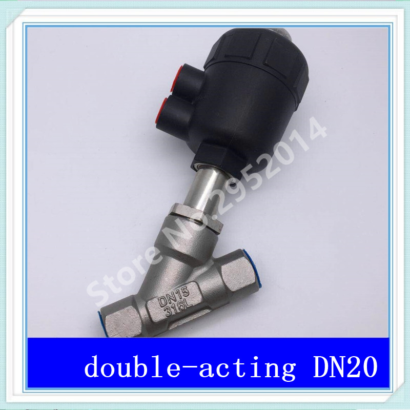 DN20 304 stainless steel pneumatic Angle seat valve with high temperature steam Y type Angle seat valve 2 DN-20 krennic s imperial shuttle building bricks blocks toys for children boys game plane weapon compatible with lepins diy model