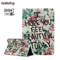 For Funda IPad Mini Case Cute Cartoon Print Book Flip Stand PU Leather Tablet Cover Case