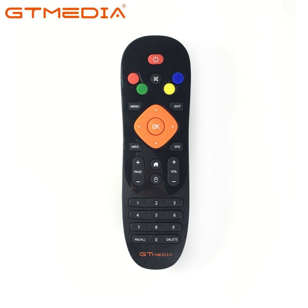 [Genuine] Remote Control For GTmedia GTC Android TV Box With DVB-T2 DVB-S2 DVB-C And ISDB-T Amlogic S905D 2GB RAM 16GB ROM Combo