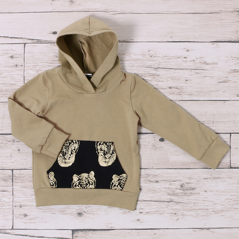 b611c512f4ed5 Kaiya Angel Newborn Baby Boys Clothes Gold Tight Print Hoddler Long Sleeve  Pants Suit Boutique Baby Outfit Infant Clothing-in Clothing Sets from  Mother ...