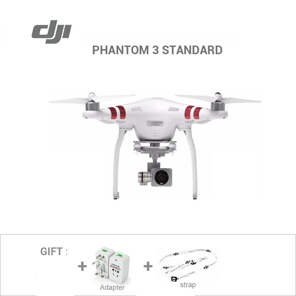 Prix pour Freeshipping d'origine DJI Phantom 3 Standard drone avec 2.7 K HD caméra & cardan RC Hélicoptère Marque nouveau PPP drone dans stock
