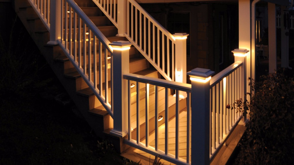 Led Lamps Qaca Dc 12v Stair Well Corridor Wall Lighting Decorative Lamp Sheds Porches Recessed Led Deck Stair Light Set Of 6pcs B106a-6 Led Underground Lamps
