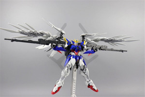 Image 4 - COMIC CLUB instock MJH mojianghun hirm style version wing gundam zero ew MG 1/100 action assembly figure robot toy