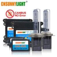 CNSUNNYLIGHT Super Slim High Quality Canbus 35W HID Xenon Kit H1 H3 H7 H8 H10 H11 9005 9006 880 Car Error Warning Free with EMC