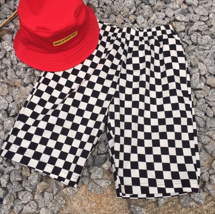 HTB1SPAMXhDBK1JjSZFhq6xFFFXaO - Plaid Short Pants Checkerboard JKP194