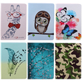 Don't touch me Print PU Leather Case For Apple iPad Air 2 Case Folio Stand Protector Skin Cover For iPad 6 ipad6 With Card Slots