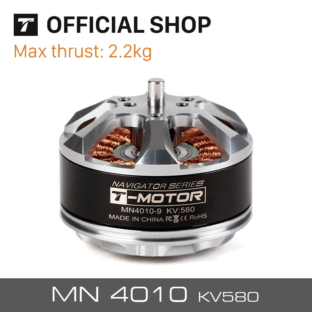 T-motor High quality Brushless motor MN4010 KV580 for UAV rc drones quadcopters hexacopter professional boats