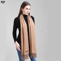YI LIAN Marca Sciarpa di Cachemire Delle Donne Non Perdita di Grandine Top Qualità Nuovissima Liscio Caldo Inverno Sciarpa YL-