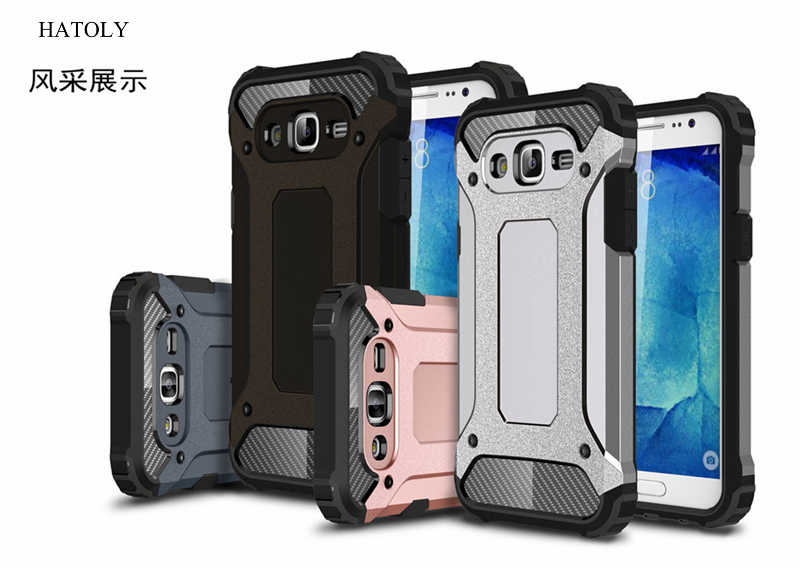 7f11493b786 ... HATOLY For Capa Samsung Galaxy J7 2015 Case Galaxy J7 2015 Heavy Armor  Slim Hard Cover ...