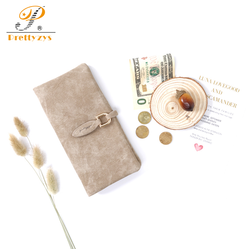 Prettyzys 2018 Ladies Wallet Female Long Purse Women Large Woman Coin Card Holder Vintage Money Bag Phone Perse Fashion Leather xzxbbag fashion female zipper big capacity wallet multiple card holder coin purse lady money bag woman multifunction handbag