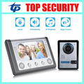 "7"" TFT color screen 16 songs 420TVL IR camera door access control video door phone system wired door bell door intercom"