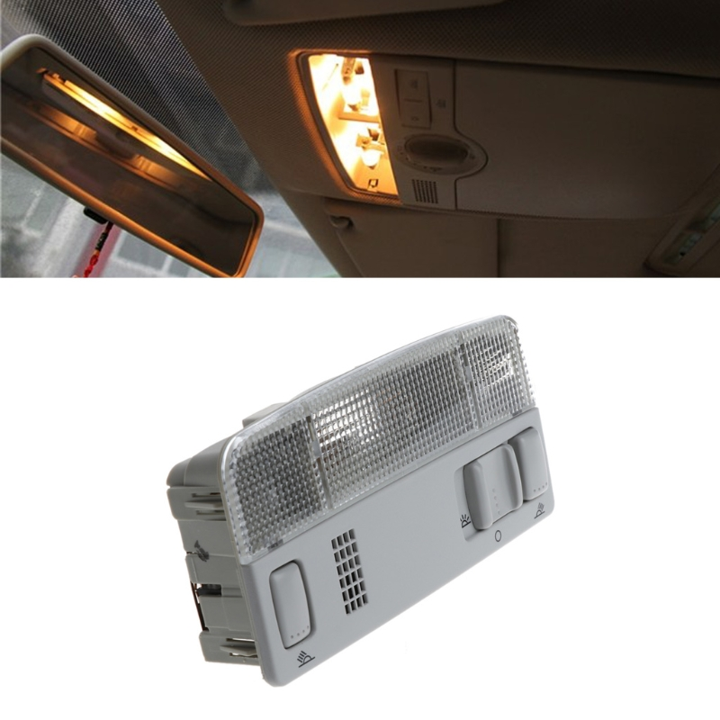 Car Reading Interior Light For VW Passat B5 Golf 4 Bora Polo Caddy Touran Octavia Fabia Drop shipping luminous glow ignition switch decoration key ring sticker for skoda octavia fabia yeti vw passat bora polo golf 6 jetta mk5 mk6