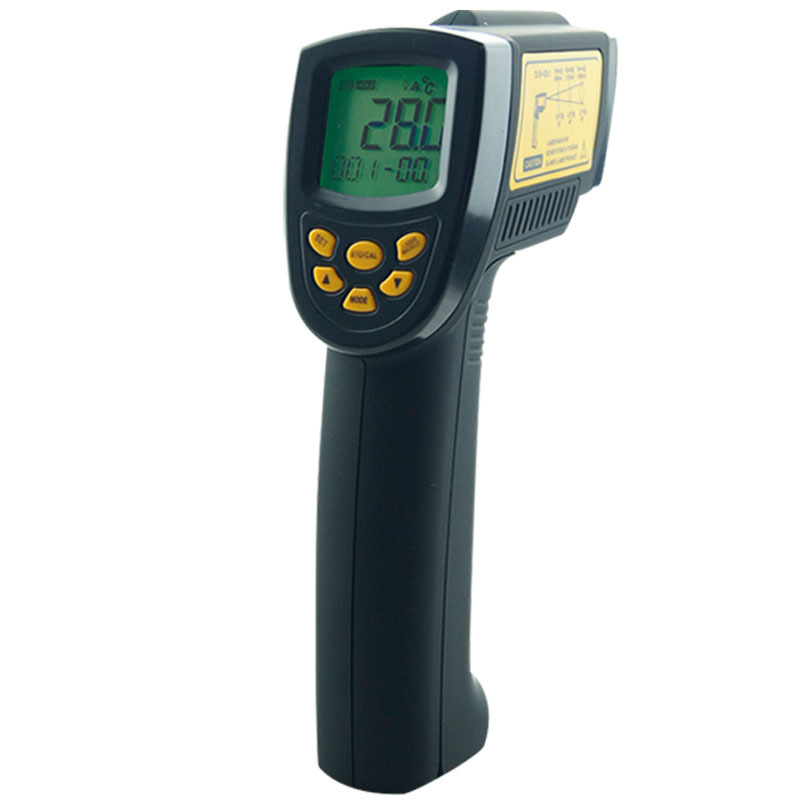 New!Digital IR Laser  Point Gun non contact Infrared Thermometer -50 ~ 1000C(-58 ~ 1832F ) AR862D+ infrared thermometer 2017 bside btm21c infrared thermometer color digital non contact ir laser thermometer k type 30 500 led