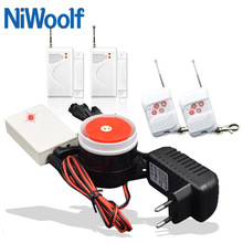 Free Shipping Wireless Alarm System Door Magnetic Detector, Door Open Alarm, It Is More Affordable Than GSM Alarm System