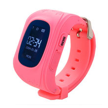 Useful Anti-Lost Children Kids GPS Tracker SOS Call Smart Wrist Watch Phone For Android sograce smart watches smartwatch gps smart watch for children smart watch call reminder girl boy on wrist android watch phone