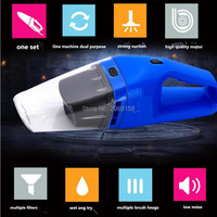 Car Vacuum Cleaner 120W Handheld Vacuum Cleaner FOR golf 5 peugeot 207 golf 4 peugeot 307 renault bmw e60 golf 7 peugeot 308