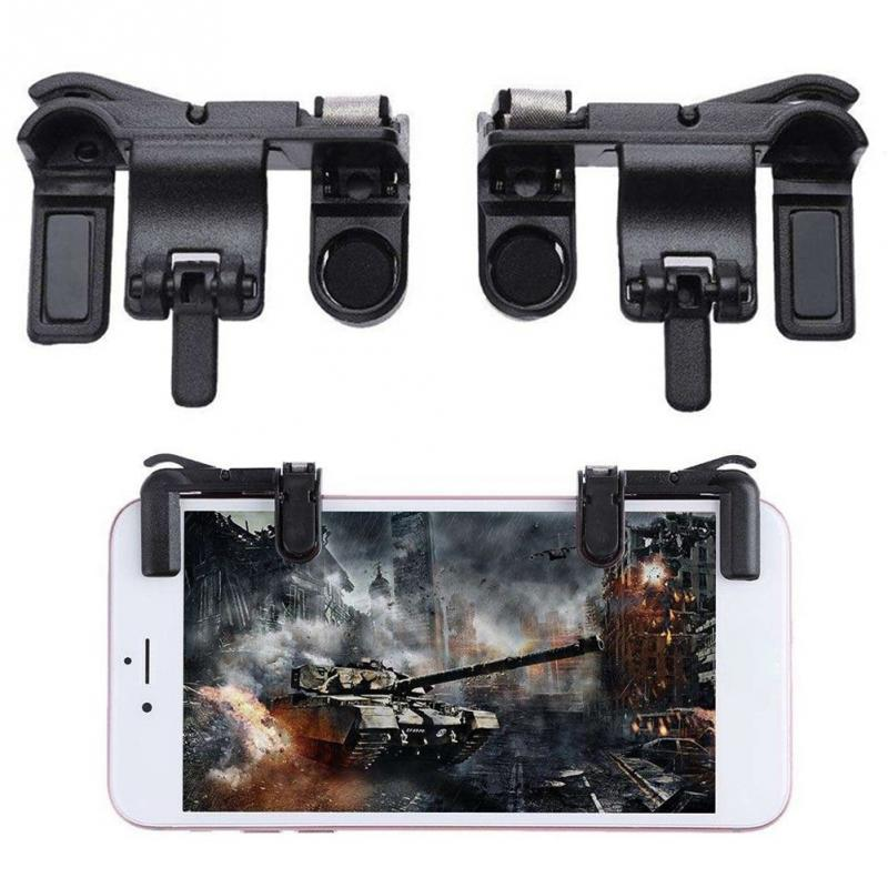Mobile Phone Gaming Trigger L1R1 <font><b>Shooter</b></font> Controller For PUBG Knives out Rules of Survival Controller <font><b>Shooter</b></font> Fire Button image