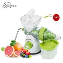 LMETJMA Home Manual Juicer Hand Crank Health Juicer Kitchen Fruit Squeezer With Long Handle Apple Orange Juicer LK0724A