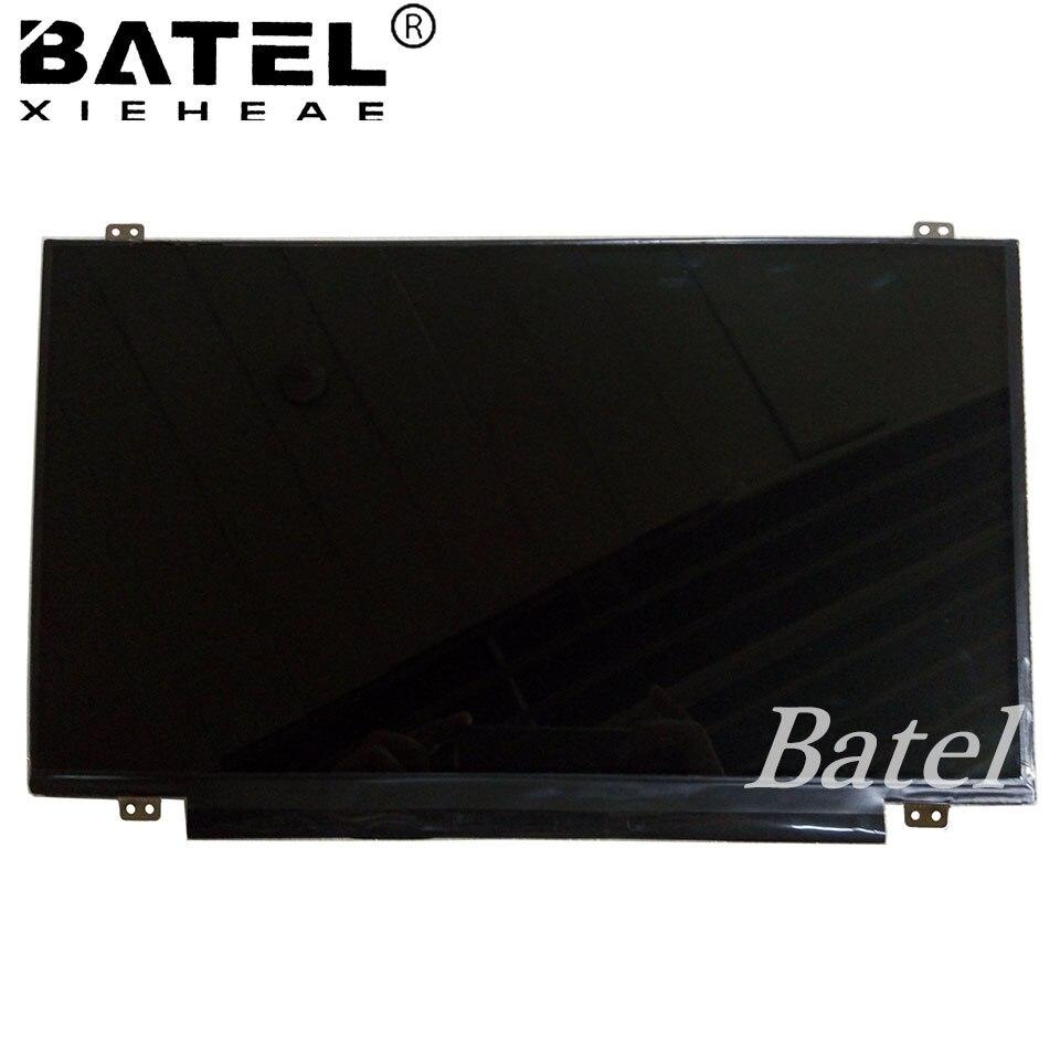 цены на New Display for Lenovo Ideapad 110-15IBR Screen Matrix for IdeaPad 110-15 IBR Lapotp LCD Screen 1366x768 HD 30Pin Replacement в интернет-магазинах