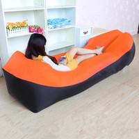 camping Update Version lazy sofa inflatable Beach bed Air Sofa Lounge Camping lazy bag air lounger Sleeping Bag pillow sofa bed