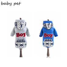 Free Shipping new desinger dog hoodie 100% cotton pet clothes for puppy dog clothing for dogs chihuahua pet dog products