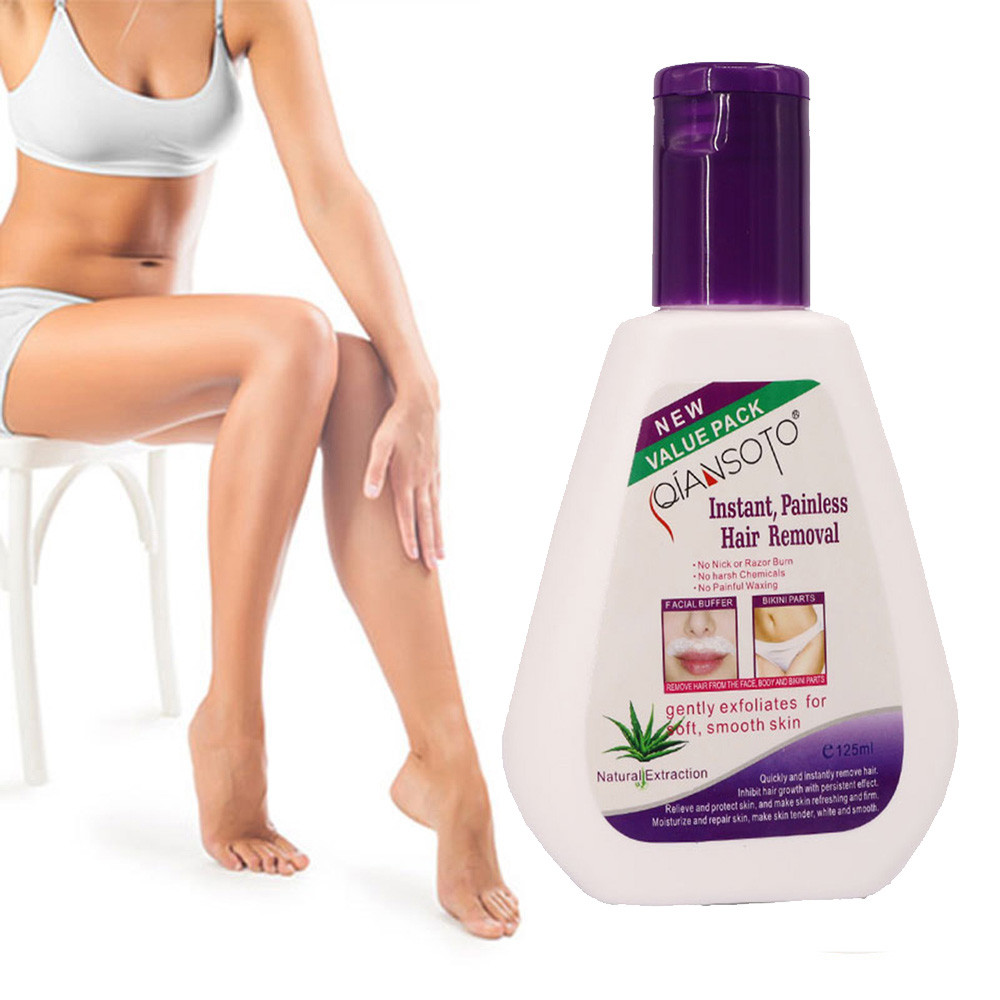 Hair removal cream is mild and non-irritating Permanent Hair Removal Cream Stop Hair Growth Inhibitor Removal Powerfu2 image