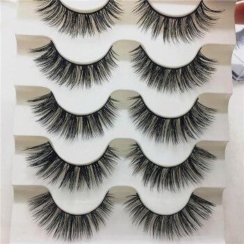Hot Fashion Causal Fake Eyelashes Makeup 1Box Luxury 3D False Lashes Fluffy Strip Eyelashes Long Natural Party Beauty Cosmetic Health & Beauty